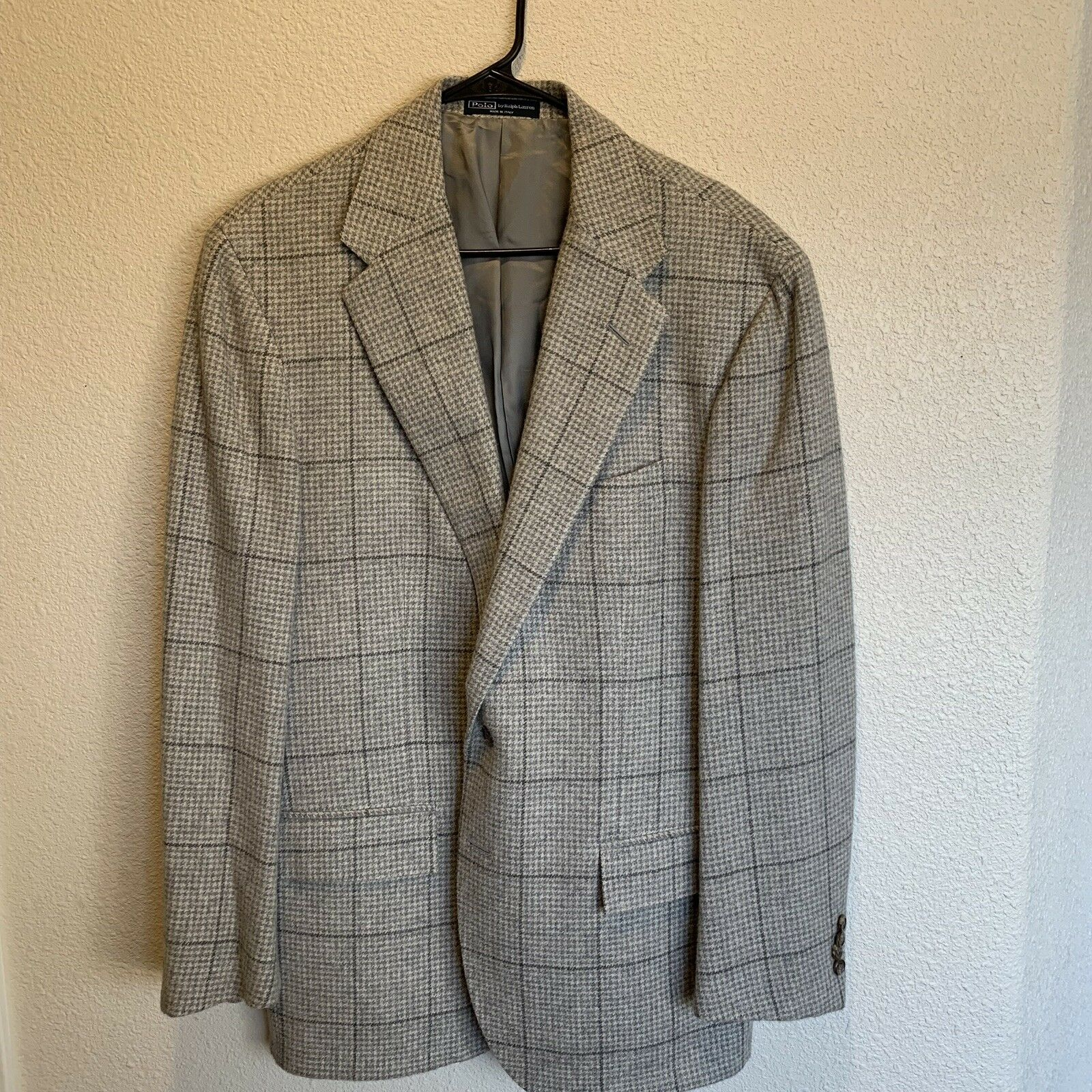 Polo by Ralph Lauren vintage men's blazer.46 Reg. Made In ,100
