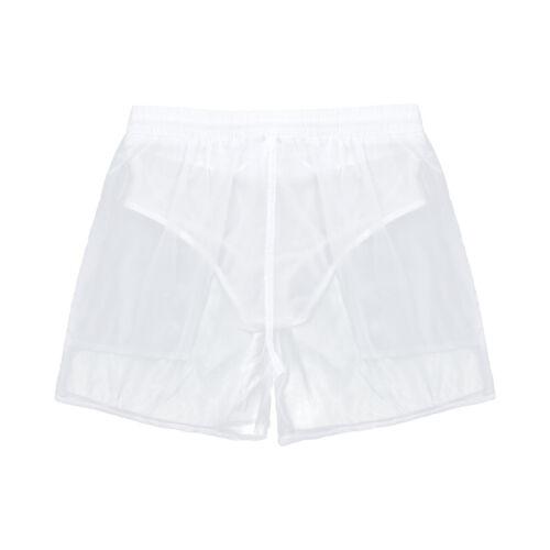 Männer Badeshorts Schnelltrocknend Boardshorts Kurze Hose Shorts Durchsichtig