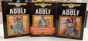 Comic-Fumetti-Fumetto-ITALIANO-Hazard-LA-STORIA-DEI-TRE-ADOLF-Numero-1-2-3