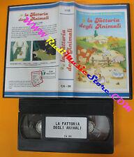 VHS film LA FATTORIA DEGLI ANIMALI animazione CA - 06 Orwell (F126) no dvd