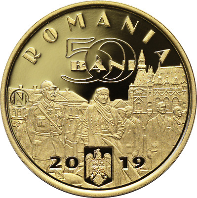 50 Bani 2019 *NEW* Queen Maria *PROOF* Commemorative Coin Romania Low Shipping!