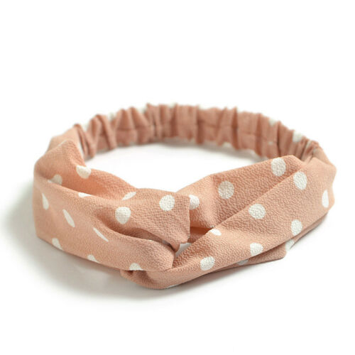 Mode Frauen Turban Twist Knoten Kopf Wrap Stirnband Twisted Verknotet Haarband