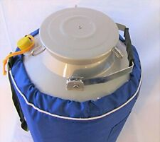 30l Liquid Nitrogen Ln2 Storage Tank Container Cryo Dewar Wide 8 Mouth Neck New