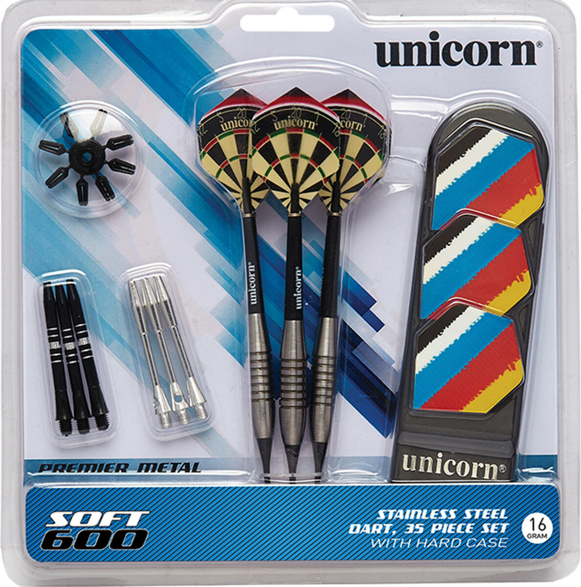 Unicorn Mass Merchant Soft 600 Darts Set Of 2