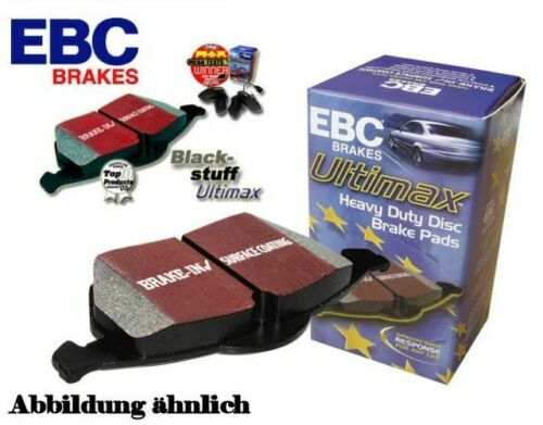 EBC Blackstuff Ultimax2 Bremsbeläge Vorderachse DP937