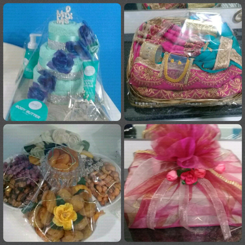 Wedding and engagement parcels made on order