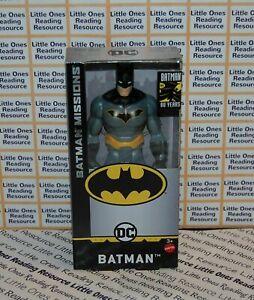 """DC Batman Missions BATMAN 6"""" Inch Scale Figure Mattel GCK97"""