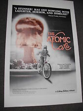 """SCARCE 1982 ORIGINAL ONE-SHEET (27x41) FOR """"THE ATOMIC CAFE""""! CLASSIC CULT FILM!"""