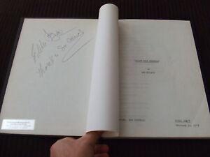 SIGNED-1973-Gift-Of-Terror-ABC-TV-Movie-Script-Will-Geer-Alexander-HC-Bound-FOY