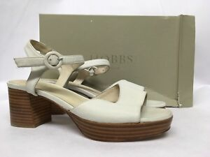 Größen weiße Verschiedene £ Hobbs Emmy Weiße Sandaletten 129 ORIxwXEqw