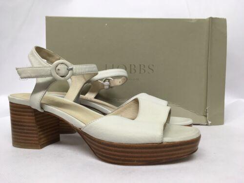 Emmy weiße £ 129 Verschiedene Weiße Sandaletten Größen Hobbs qFpEdF