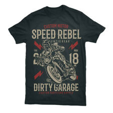 Slayer Scooter mens t shirt Motorcycles Garage Full Speed Racer Caferacer S-3XL
