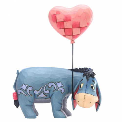 Disney Traditions Figurine Love Floats Eeyore With A Heart Balloon *BRAND NEW*