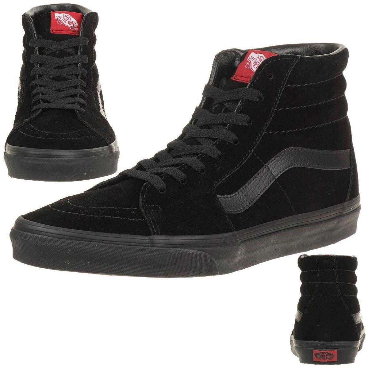 VANS Sk8-Hi Unisex-Erwachsene Sneaker VD5IBKA schwarz schwarz suede
