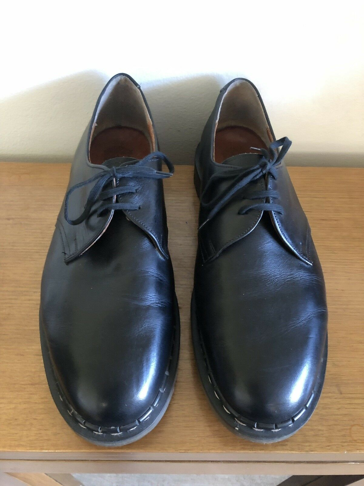 Vintage Tredair - Black shoes - Made in England - Men's Size UK 11 (US12)