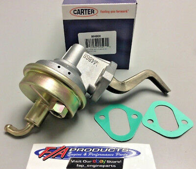 Chrome High Performance Mechanical Fuel Pump PONTIAC V8 400 421 428 455 NEW