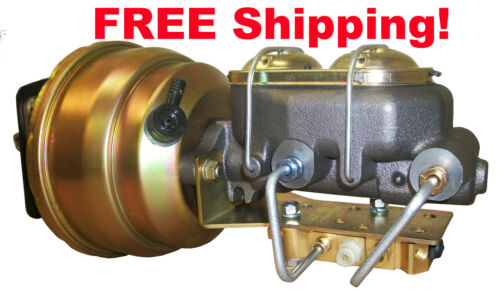 1959-62 59 60 61 62  CADILLAC  POWER BRAKE BOOSTER CONVERSION FOR DRUM BRAKES