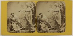 Foto-Stereo-Artistico-Illustrato-Allegorie-Francia-T3n30-Vintage-Albumina-c1870