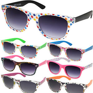 22740231353 Image is loading KIDS-Girls-Flower-Heart-Cute-SUNGLASSES-Retro-Little-