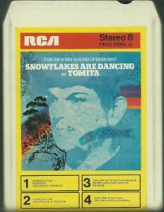 8-Track-8-Spur-Tonband-Tomita-Snowflakes-are-dancing-Vintage-Ambient