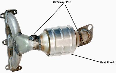 KIA MAGENTIS OPTIMA 2.4L Flex W//Catalytic Converter FITS HYUNDAI SONATA