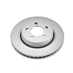 Disc Brake Rotor-Front Genuine Geomet Coated Rotor Front Power Stop AR83071EVC