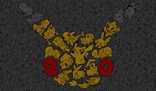 Pokemon GO Pikachu GENERATIONS Custom Playmat/Mouse Pad #22 FREE SHIPPING