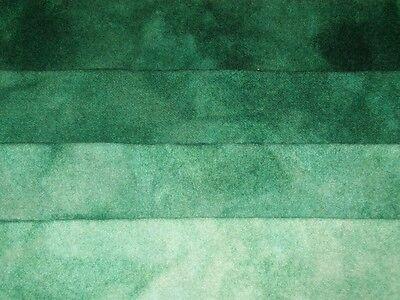 Fat Quarter Spot hand dyed rug hooking wool fabric Aqua Marine