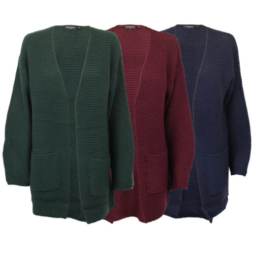 Ladies Cardigan Brave Soul Womens AMBER Open Front Knitted Boyfriend Fashion New