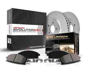 Power Stop K448 Rear Brake Kit with Drilled//Slotted Brake Rotors and Z23 Evolution Ceramic Brake Pads
