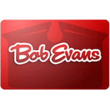 Bob Evans Gift Card 25 Value Only 2300 Free Shipping