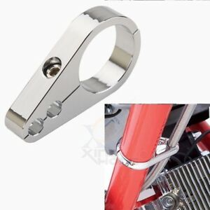 Frame Clip Clamps 1 Metal Throttle Clutch Choke Cable Handlebar 10 Pack