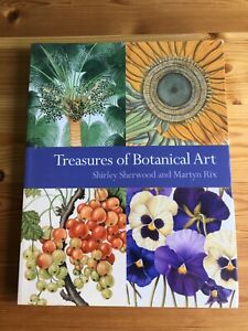 Treasures Of Botanical Art Paperback Book Shirley Sherwood Kew