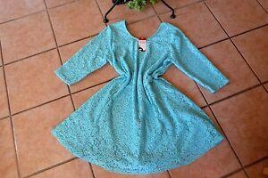 Look tunique superposé en turquoise forme Robe Nouveau bouts à 44 de stretch ronds Magna 46 zPxw1qd8T