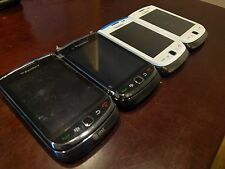 Lot of 4x Blackberry 9800/9810 Unlocked TORCH Phones - Used