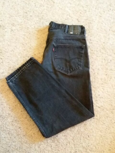 a4ce0b00725 Levi's 550 Black Denim Jeans 38 X 32 Relaxed Fit for sale online | eBay