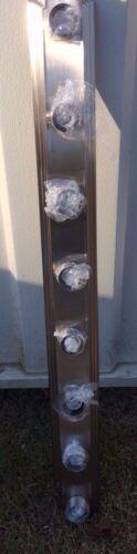 """NIB SAVANT VANITY BAR LIGHT 48/"""" 8 LIGHT Brushed Nickel Finish 4508-58"""