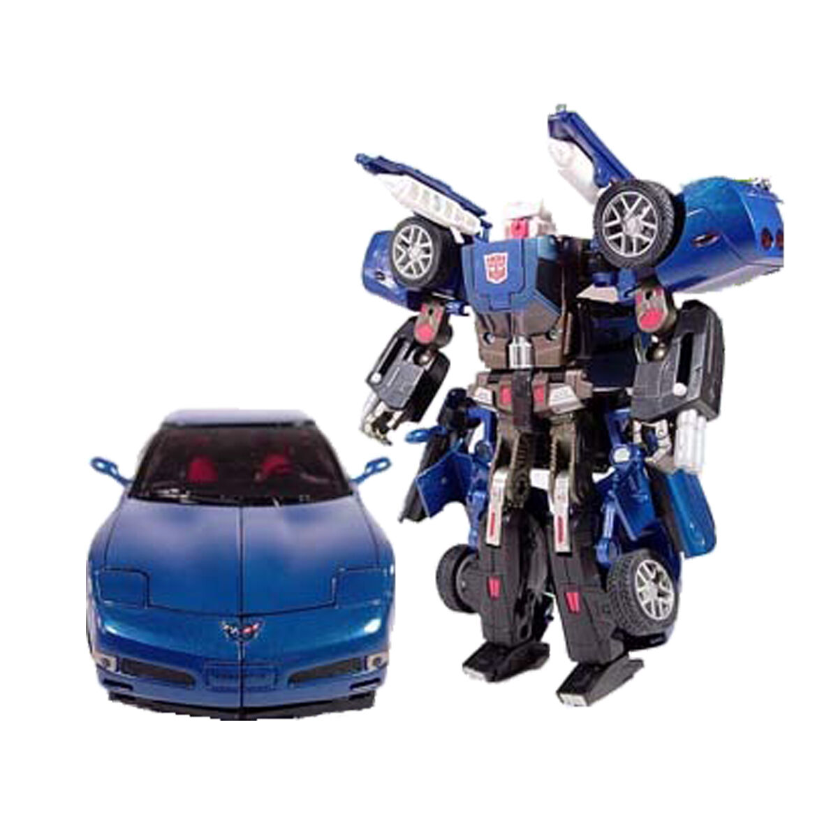Binaltech BT-06 Pistas Corvette blue carrocería de metal - Transformers