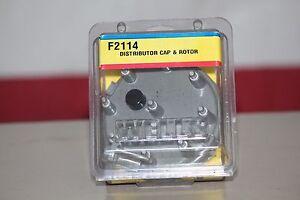 Distributor-Cap-amp-Rotor-F2114-WELLS-Ford-84-95-Truck-Car-Van-Lincoln-Mercury