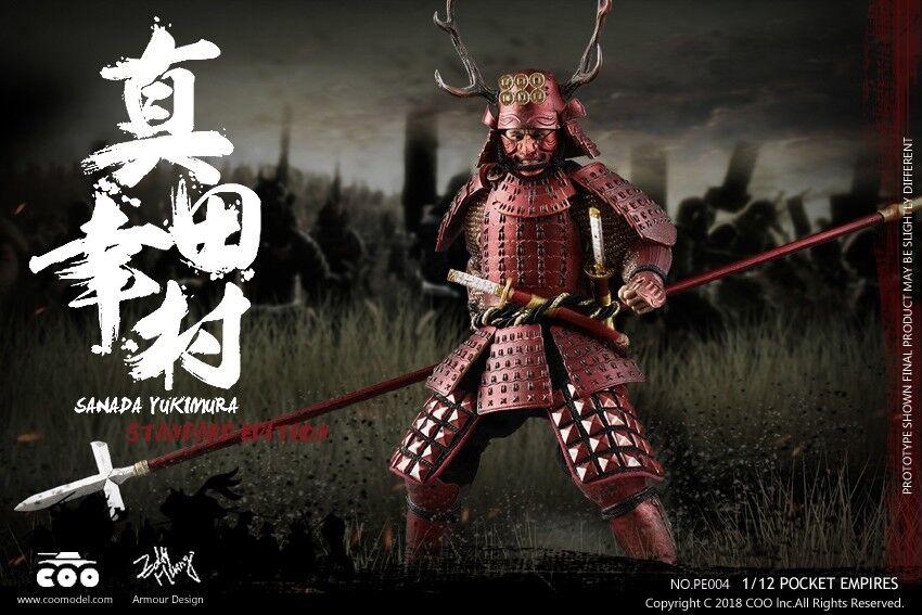 COOMODEL japonesa Samurai Sanada Yukimura (Standard Edition) 1 12 figura