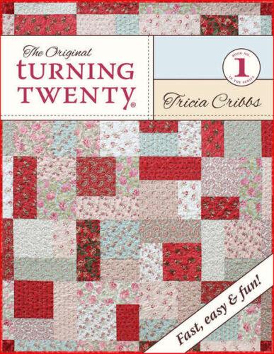 THE ORIGINAL TURNING TWENTY Fat Quarter Quilt Pattern Book FriendFolks FF105