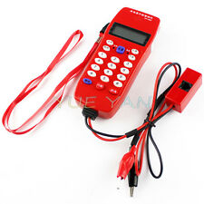 Cable Tester Phone For Telephone Telecommunication Check Phone DTMF Caller ID