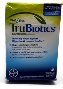 Best Probiotic 2020.Details About Trubiotics Daily Probiotic Supplement 45 Count Exp 1 2020