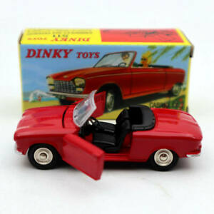 Atlas-1-43-Dinky-Toys-511-Cabriolet-204-Peugeot-Red-Diecast-models-car