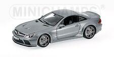 MINICHAMPS 100 038120 MERCEDES BENZ SL65 AMG model car grey metallic 2009 1:18th