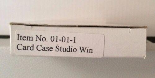 Business Card Case Frank Lloyd Wright Oak Park Design Silver Metal