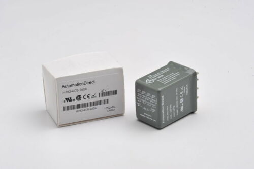 Automation Direct H782-4c5-240a Cube Relay 5a 4pdt 240vac Coil