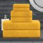 De-Lujo-cero-Twist-600GSM-6-Pc-Conjunto-de-toallas-de-bano-Juego-de-toallas-de-mano-Toalla-de-Bano miniatura 26