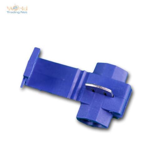100 Kabel-Schnellverbinder BLAU STROMDIEBE JAPANER BLUE Abzweigverbinder