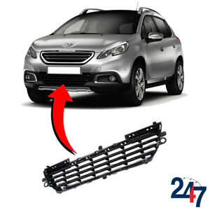 Details about NEW PEUGEOT 2008 2013 - 2018 FRONT BUMPER LOWER CENTER GRILL  9678059480